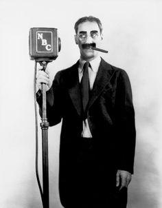 A Masterpiece of Understatement, driveintheaterofthemind: Groucho Marx At NBC