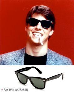 10 Awesome Sunglasses Inspired by Movies. Risky BusinessRay Ban WayfarerClubmaster  ... 1efe5bbf28