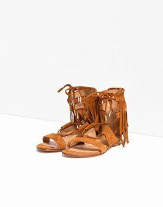 Chaussure capri camel - chaussures femme - zapa 3