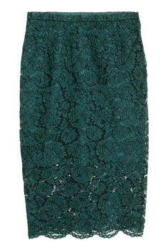 Lace pencil skirt | H&M