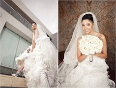 {Real Weddings} : Georgina + Arturo by Nacho Guerrero - Belle the Magazine . The Wedding Blog For The Sophisticated Bride