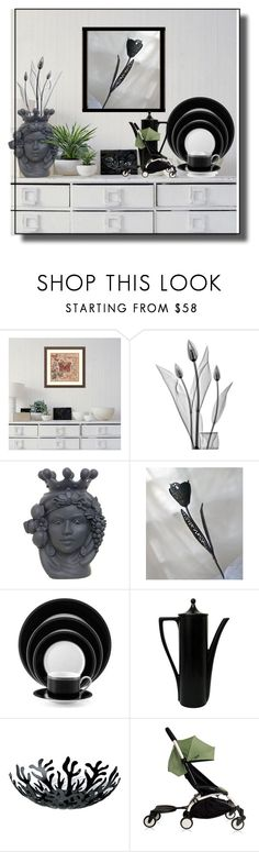 """Stefania Boemi"" by flora-chn ❤ liked on Polyvore featuring interior, interiors, interior design, home, home decor, interior decorating, Amanti Art, Pottery Barn, Alessi and Babyzen"