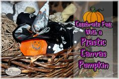 Celebrate Fall With a Plastic Canvas Pumpkin The Ultimate Pinterest Party, Week 72