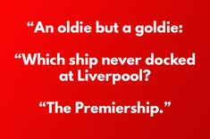 Here's one that younger Man United fans probably remember from school. 17 Jokes You'll Find Funny If You're A Man United Fan Manchester United Fans, Manchester United Wallpaper, Liverpool Memes, Fan Quotes, All Jokes, Soccer Memes, Best Club, Man United, Man Humor