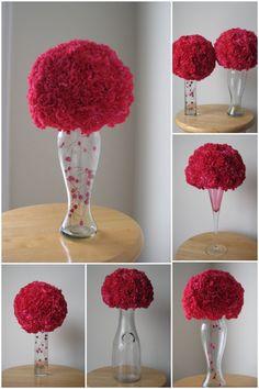 Weekend DIY Project Results- Flower Balls!