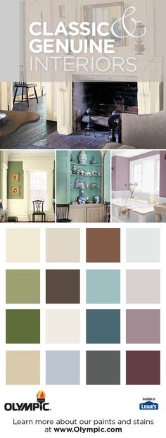 Clic Genuine Indoor Paint Colorsroom