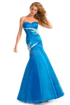 Sweetheart,fashion, Blue, Formal Dress