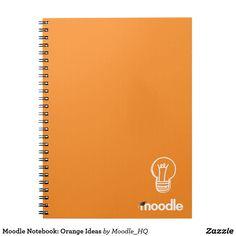 Moodle Notebook: Orange Ideas
