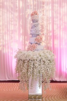 gorgeous #elegant wedding cake http://trendybride.net/elegant-nigerian-tampa-florida-wedding/ #cakes