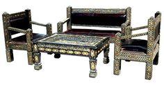 Moorish Room | moorish furniture living room set kotoubia living room set