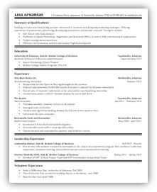 ... resume on Pinterest | Sample resume, Student resume and Resume