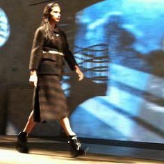 Adriana For Prada Prada, Fur Coat, Jackets, Fashion, Down Jackets, Moda, Fashion Styles, Jacket, Fashion Illustrations
