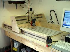 Our CNC Router Plans will guide you to build a CNC Router mainly from basic hardware store items, and with standard tools used for woodworking, plan set includes fixed and moving gantry models to select from,
