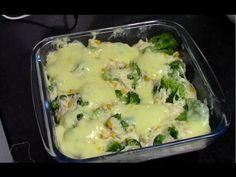 Brócolis com Queijo - Brincando de Ana Maria. Receita com brócilos. Receita com muito queijo