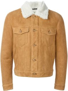 Shop Marc Jacobs shearling aviator jacket  in Vitkac from the world's best…