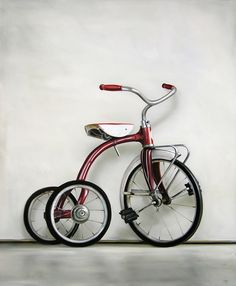 by Christopher Stott-I still have my trike from my childhood!