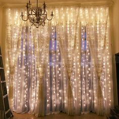 christmas wedding decorations - Outop Window Curtain Lights 8 Modes Fairy Lights for Party Wedding Garden Home (Warm White) *** Need to know extra, click the picture. (This is an affiliate link).