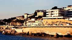 Stock Footage|coastal corniche road in marseille, france |Download using the VidLib app. 50.000 Royalty Free Clips