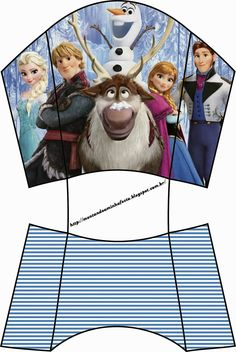Free Printable Frozen Party Boxes.