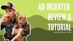 Ad Inserter Plugin Review & Tutorial | One More Cup of Coffee Level Up, Affiliate Marketing, Coffee Cups, Ads, Blogging, Canvas, Money, Tasty, Tela