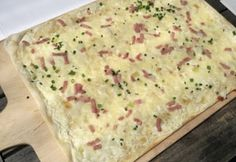 Pizza, Bacon, Dairy, Bread, Cheese, Food, Recipes, Brot, Essen