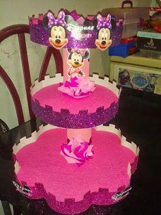Mundo infantil Carúpano: Hermosa decoración de Minnie Mause para cumpleaños