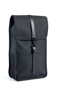 Backpack - Black   Modern Design Rainwear And Water Repellent Bags   RAINS