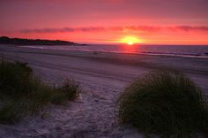 Sunrise at Scarborough Beach - Narragansett, RI