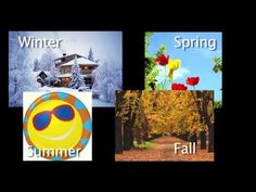 A simple song about the seasons for Kindergarten kids Seasons Kindergarten, Kindergarten Calendar, Kindergarten Science, Science Classroom, Art Classroom, Classroom Ideas, Seasons Song, Weather Seasons, Four Seasons