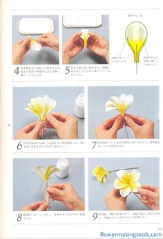 Everything you need to make silk flowers Wafer Paper Flowers, Tissue Flowers, How To Make Paper Flowers, Paper Flowers Craft, Felt Flowers, Flower Crafts, Diy Flowers, Fabric Flowers, Paper Roses