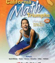 California Math Triumphs Volume 3b PDF