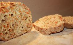 Möhren Brot mit Malzbier