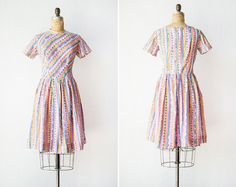 Vintage 1960s dress / 60s dress /  Merry Go Round by adoredvintage, $78.00
