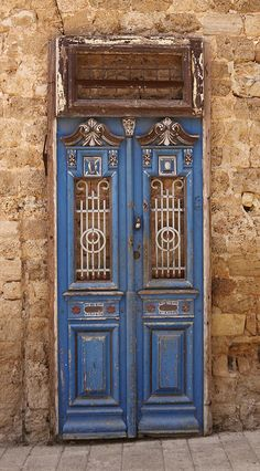 Israel....do these remind anyone of the TARDIS doors?