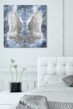 My Silver Wings Canvas Art
