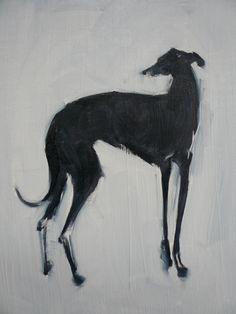 ~ Greyhound Painting ~