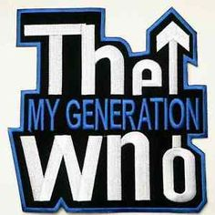 Lot-of-10-THE-WHO-MY-GENERATION-SCOOTER-MOD-SEW-IRON-ON-PATCH-BLUE-EDGING
