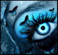 Eye Art... By Artist Unknown...