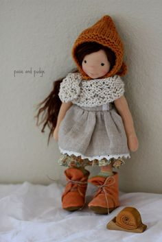 "Miss Mallory, 11"" :: Posie and Pudge Online Shop"