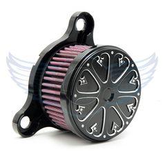 hot sale motorcycle accessories Air Cleaner Intake Filter System Kit black color For Harley-Davidson Seventy Two XL1200V 2012