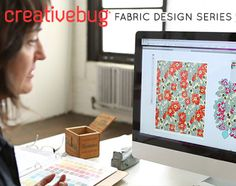 Learn how to design fabric with Creativebug