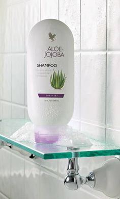 Aloe vera contains something called proteolytic enzymes which repairs dead skin cells on the scalp. It also acts as a great conditioner and leaves your hair all smooth and shiny. It promotes hair growth, prevents itching on the scalp, reduces dandruff and conditions your hair. http://aloeliving.net/lichna-higiena/aloe-jojoba-shampoo-shampoan-za-kosa-s-aloe-i-zhozhoba-detail