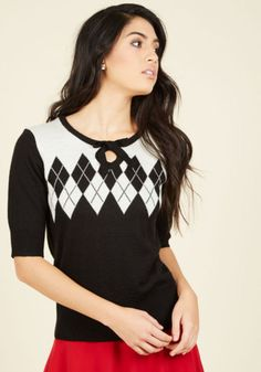 Four O'Clock Rockabilly Sweater | Mod Retro Vintage Sweaters | ModCloth.com