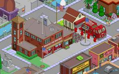 Springfield Simpsons, Springfield Tapped Out, Armeria, The Simpsons Game, Design Inspiration, Design Ideas, Fingers, Layouts, Gaming