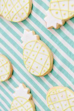 Lauren Conrad's Pineapple Cookies via LaurenConrad.com