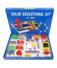 Look at this Solar-Powered Circuits Set on #zulily today!
