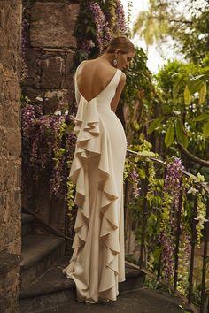 Gorgeous back on this wedding dress - BHLDN Spring 2015 Bridal Collection Bhldn Wedding Dress, 2015 Wedding Dresses, Bridal Gowns, Wedding Shoes, Party Dresses, Reception Dresses, Wedding Bride, Wedding Gowns, Boho Style Dresses