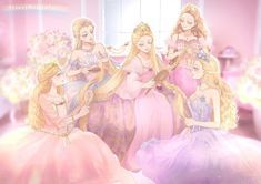 Image about art in Barbie by 𝒦𝓇𝒾𝓈𝓉𝒾𝓃𝒶 ℛ𝑜𝓂𝒶𝓃𝑜𝓋𝒶 Barbie I, Barbie World, Barbie Cartoon, Barbie Costume, Pastell Goth Outfits, Barbie Drawing, Princess And The Pauper, Pinturas Disney, Barbie Movies