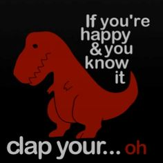 Too Funny. We just did dinosaur unit so this made me laugh out loud!