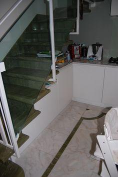 Under stair kitchen